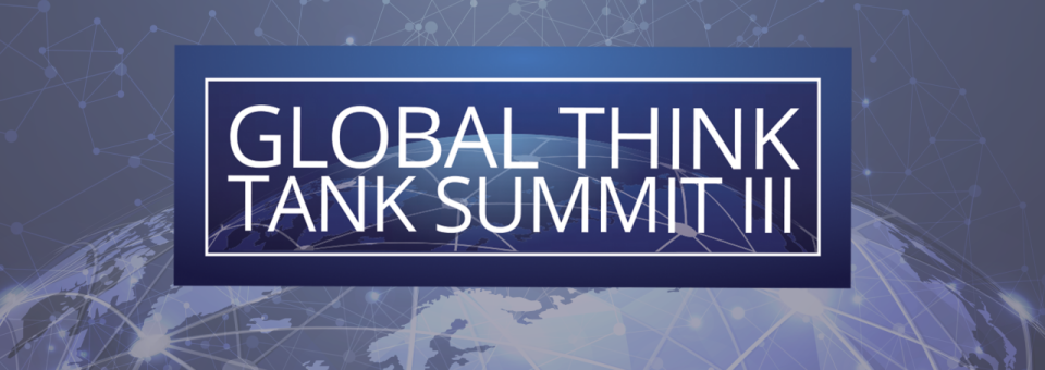 CIP Happy to Announce its Participation at the Global Think Tank Summit
